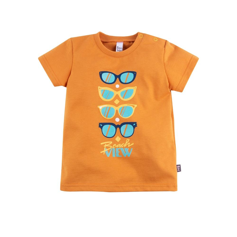Купить Футболка Bossa Nova Весна для девочки, оранжевая, CS Medica, Россия, Оранжевый, 86