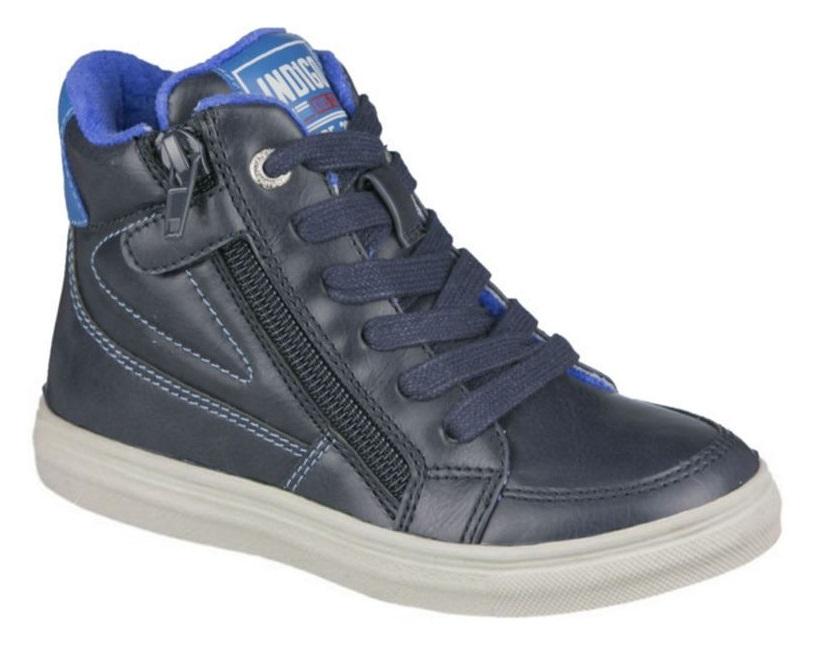 Ботинки Indigo Kids 51-730A/12, синие фото