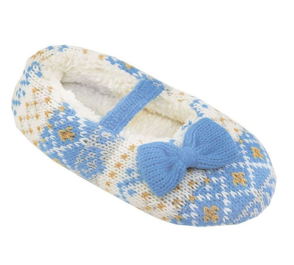 Тапочки домашние Tingo HB41001, голубые