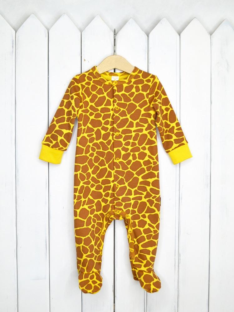 Купить Комбинезон Baby Boom Жираф , Наша Мама, Россия, Желтый, 68