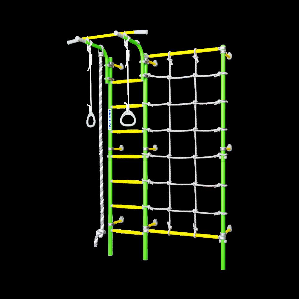 Купить Детский спортивный комплекс Romana S3 (цвета в ассорт.), Россия, Зелёный