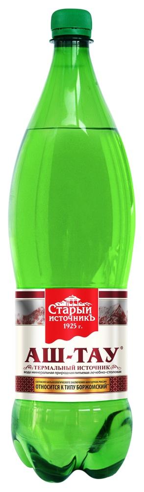 Купить Вода минеральная Аш-Тау, лечебно-столовая, газированная, 1, 5л, Старый источник, Россия