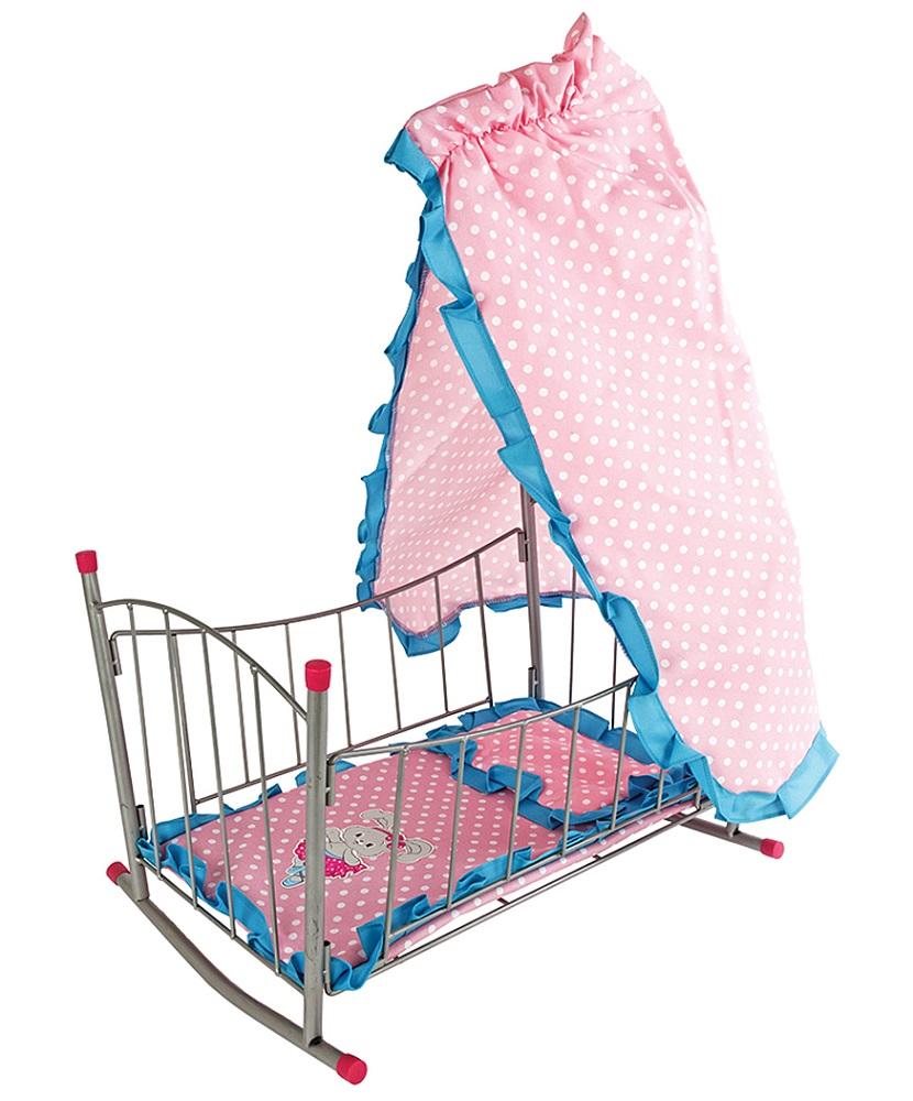 "Кровать-качалка для кукол Mary Poppins ""Зайка"" с балдахином"