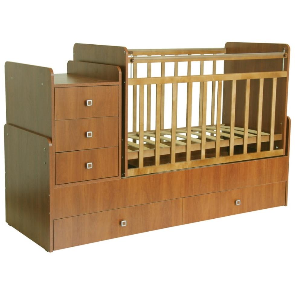 Купить Кровать-трансформер детская Фея 1100, бук, Россия