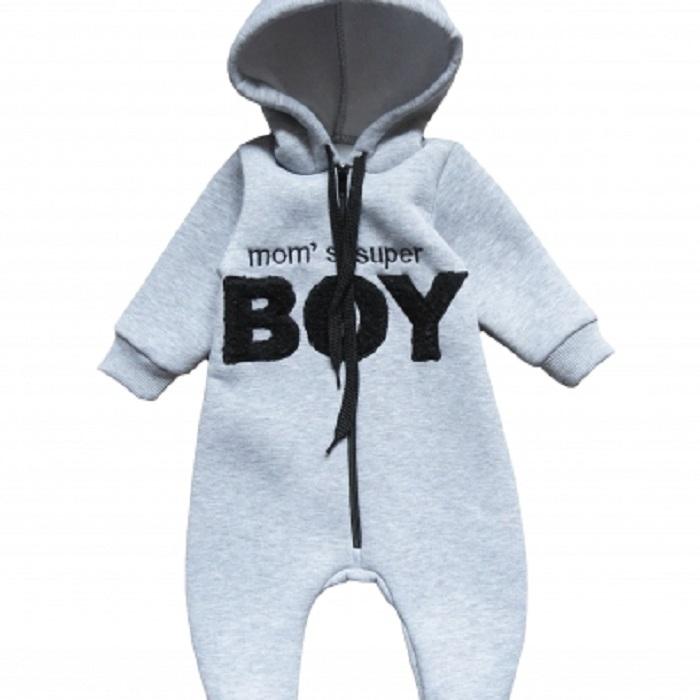 Купить Комбинезон Persona Mini Boy для мальчика, серый, CS Medica, Россия, Серый, 62