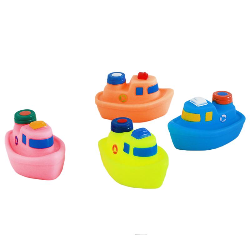 """Набор игрушек для ванны Bampi """"Кораблики"""""""