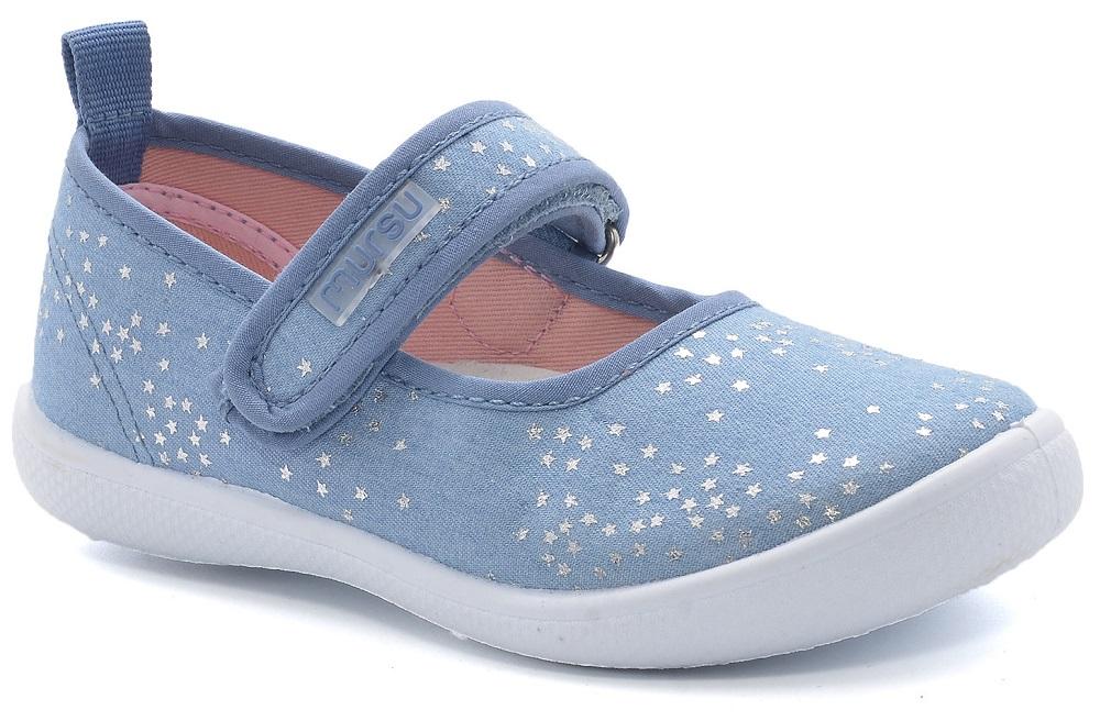 Купить Туфли Mursu 215343, голубые, Shantou Yisheng, Китай, Голубой, 25