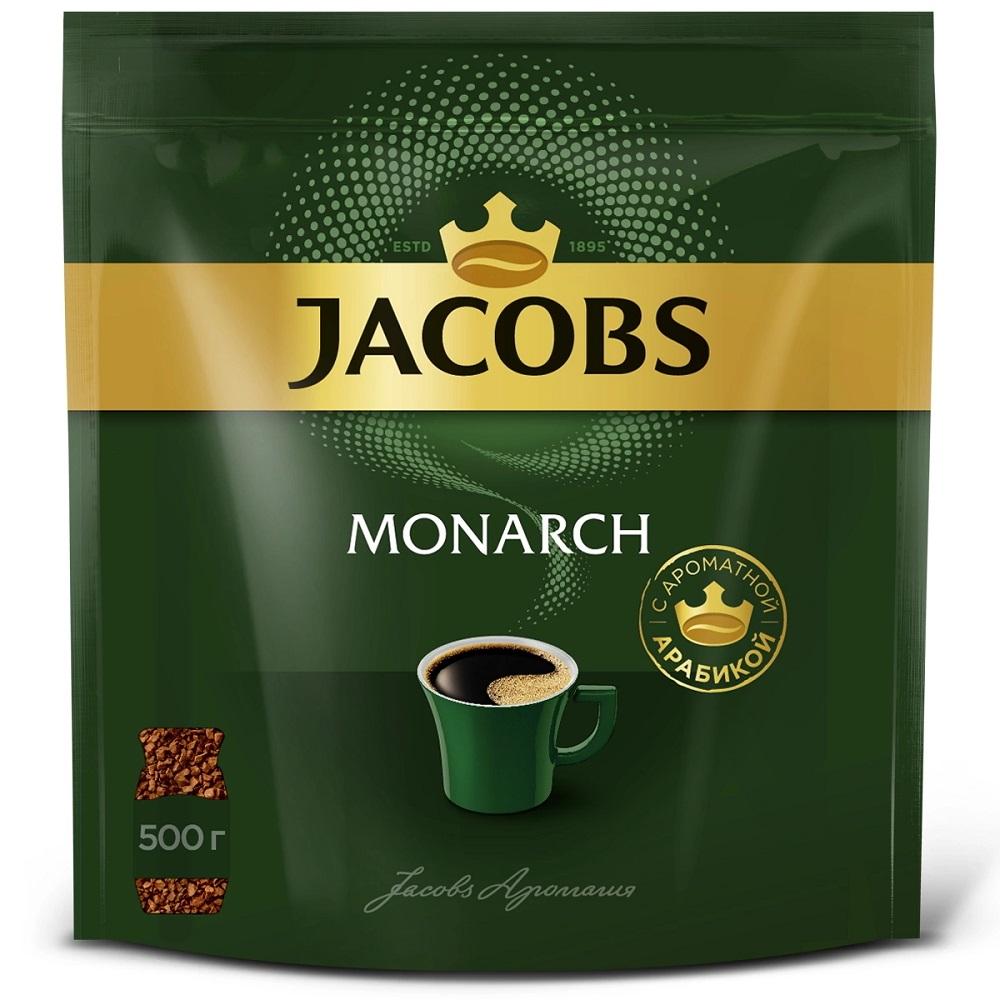 Купить Кофе Jacobs Monarch растворимый сублимированный, 500гр, Германия