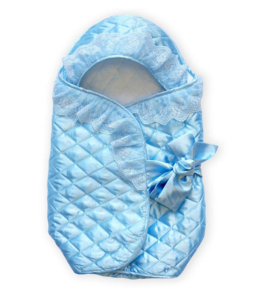 Конверт для новорожденного Baby Nice, 70х42см, голубой фото