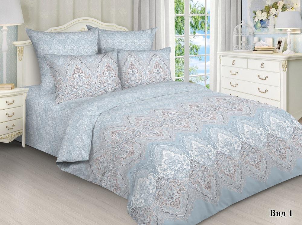 Купить Комплект постельного белья Маруся Адель 3009-1 , с наволочкой 70x70см, 2-спальный, ОТК, Россия