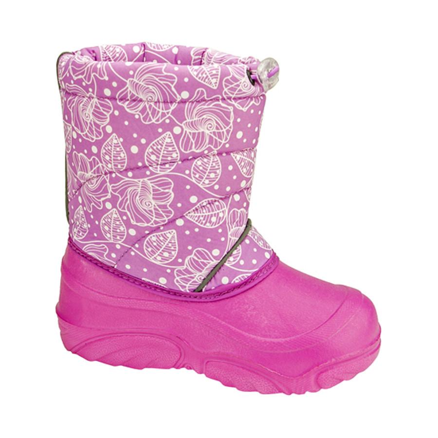 Сноубутсы Брис-Босфор BDK40251-16 для девочки, розовые фото