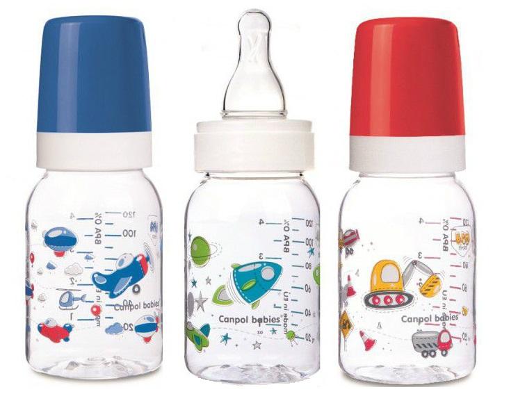 Купить Антиколиковая бутылочка Canpol babies Machines с силиконовой соской, 3мес+, 120мл (в ассорт.), Польша