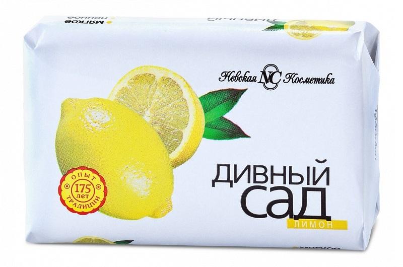 """Мыло туалетное Дивный сад """"Лимон"""", 90гр фото"""