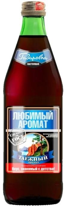 """Лимонад Любимый Аромат """"Таежный"""", стекло, 0,45л"""