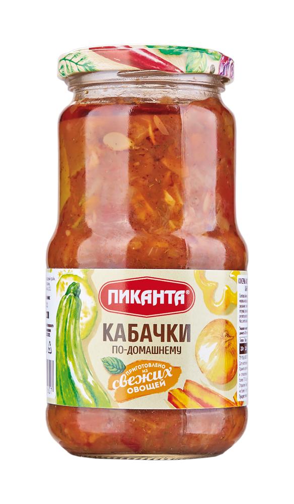 Купить Кабачки Пиканта по-домашнему, 520гр, Россия