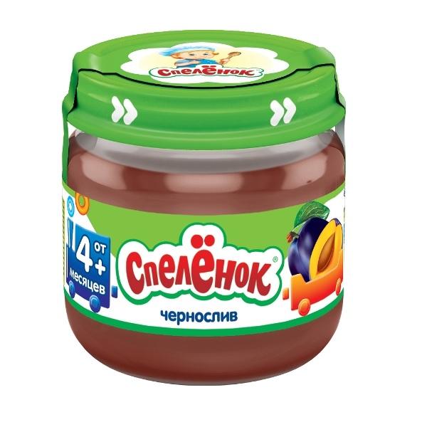 Купить Пюре Спеленок Чернослив, 80гр, Россия