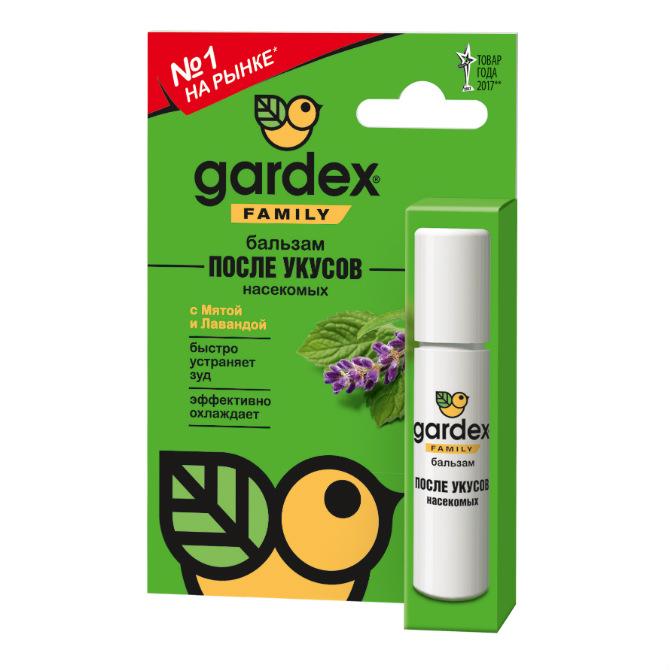 Бальзам Gardex Family после укусов насекомых, 7мл