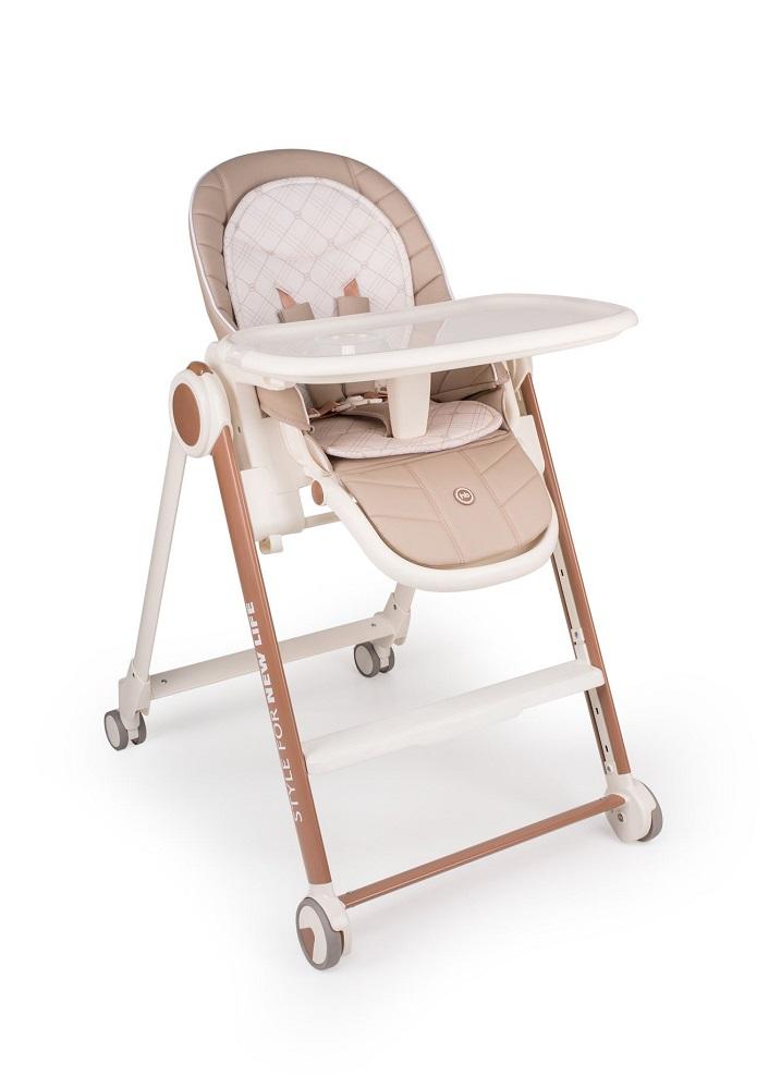 Купить Стул для кормления Happy Baby BERNY V2, Polini Kids, Россия, Бежевый