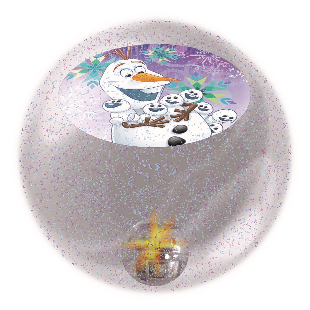 """Мяч светящийся с водой JOHN """"Холодное сердце"""", 6,5см (в ассорт.)"""