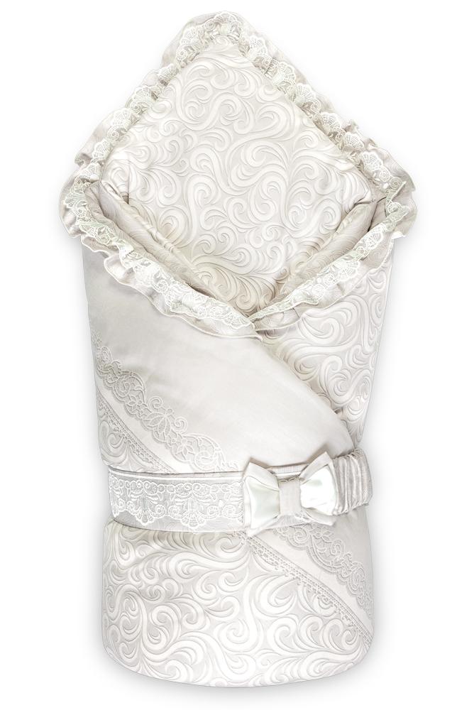 Купить Конверт-одеяло Сонный Гномик Версаль , дымчато-бежевый, Россия