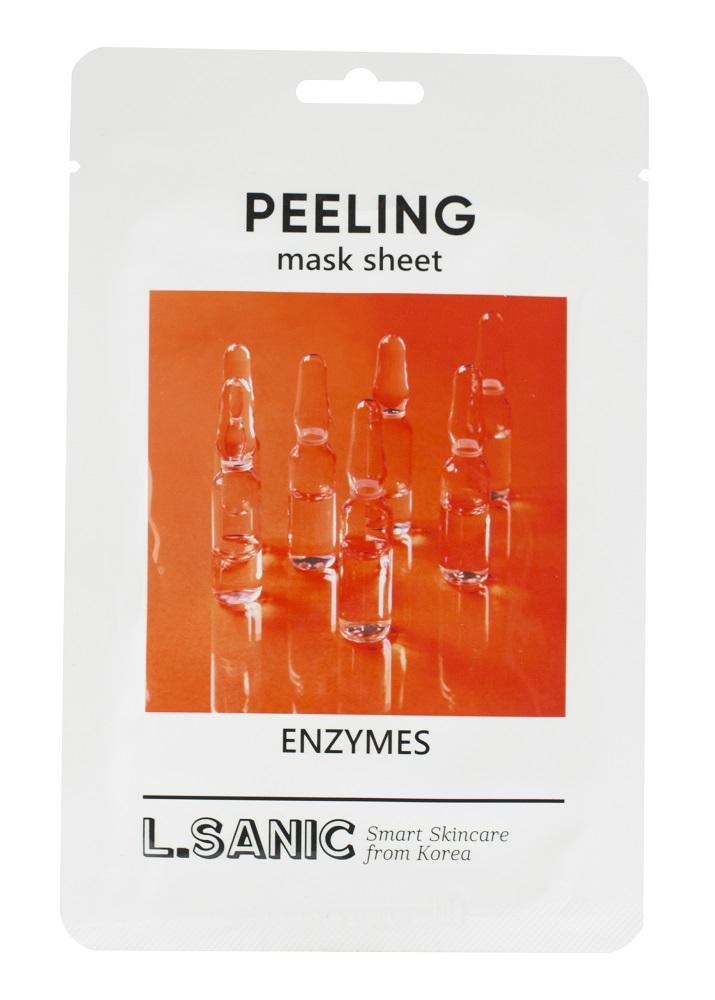 Купить Маска тканевая L.SANIC обновляющая с энзимами, 25мл, Южная Корея