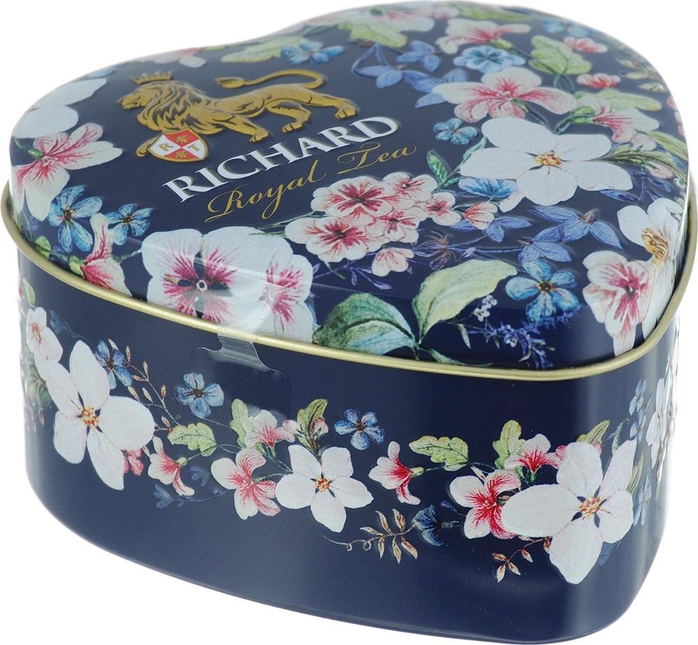 Купить Чай черный Richard Royal Heart, 30гр, Россия