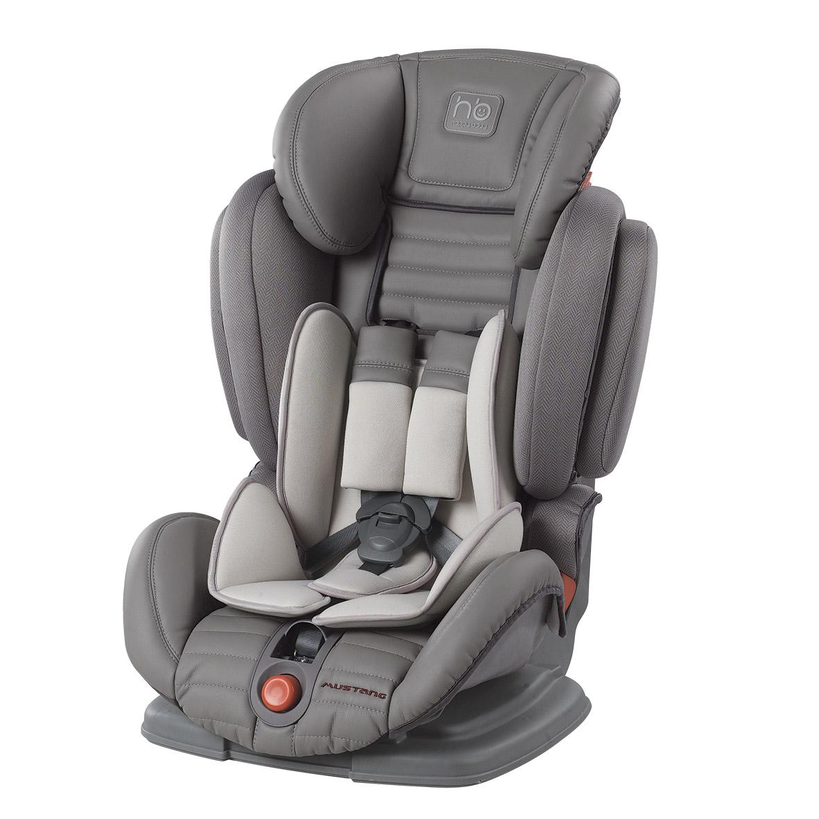 Купить со скидкой Детское автокресло Happy Baby Mustang, цвет Grey, 9-36кг
