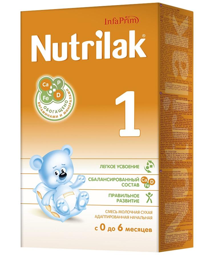 Смесь сухая молочная Nutrilak 1, 350гр