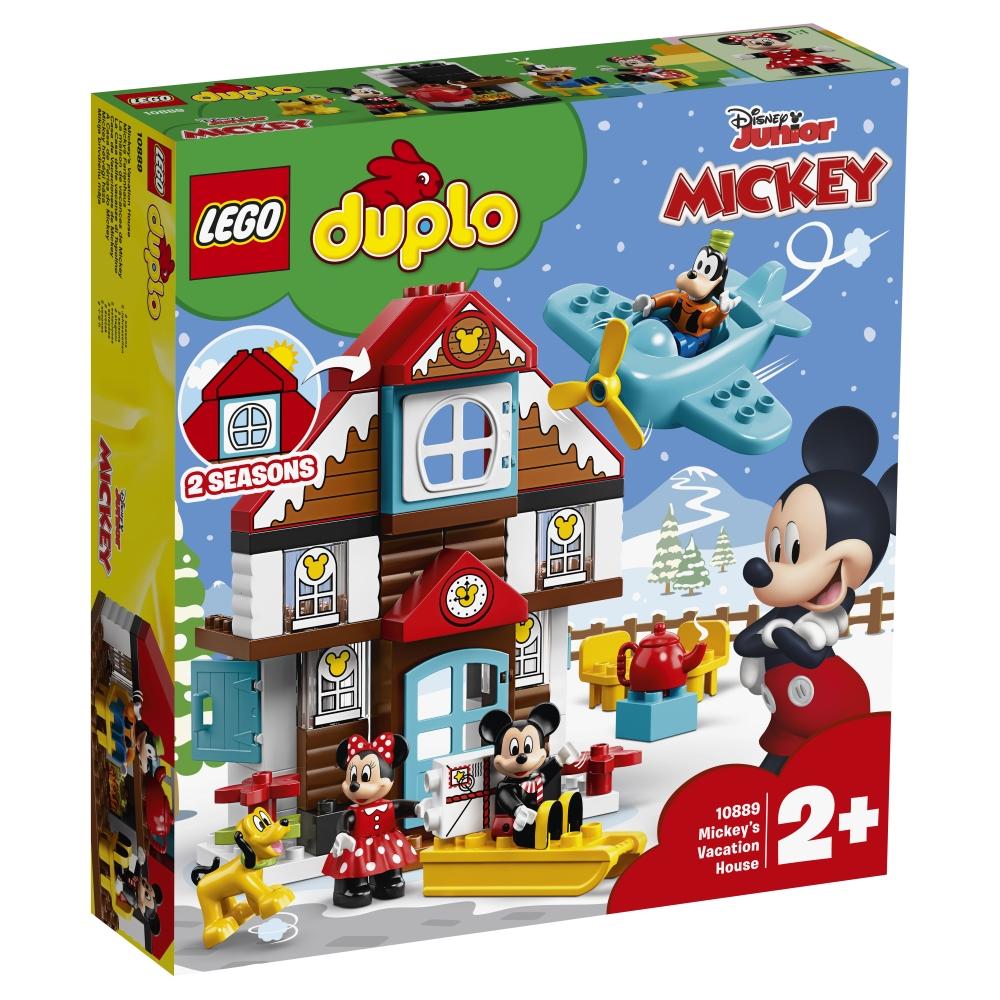 """Конструктор LEGO Duplo Disney 10889 """"Загородный дом Микки"""", 57 деталей фото"""