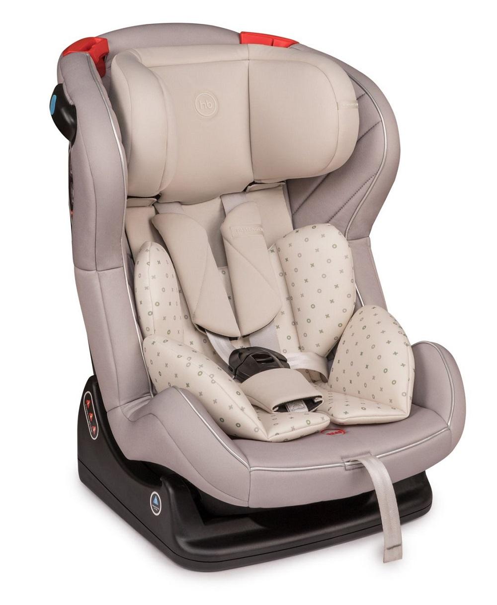 Купить Детское автокресло Happy Baby Passenger V2, до 25кг (цвета в ассорт.), Babyhit, Китай, Песочный