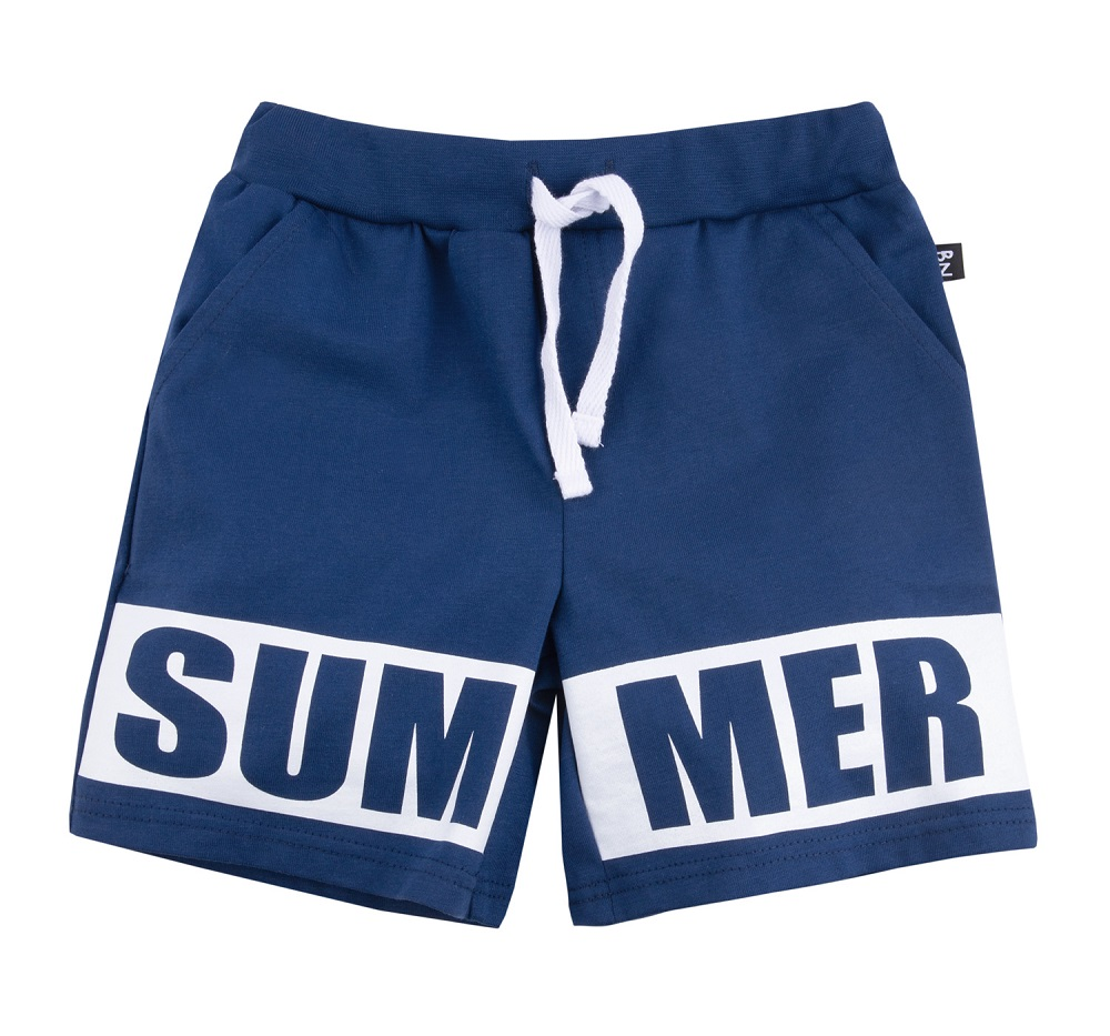 """Шорты Bossa Nova """"Лето"""" Summer, со шнуром, для мальчика, синие фото"""