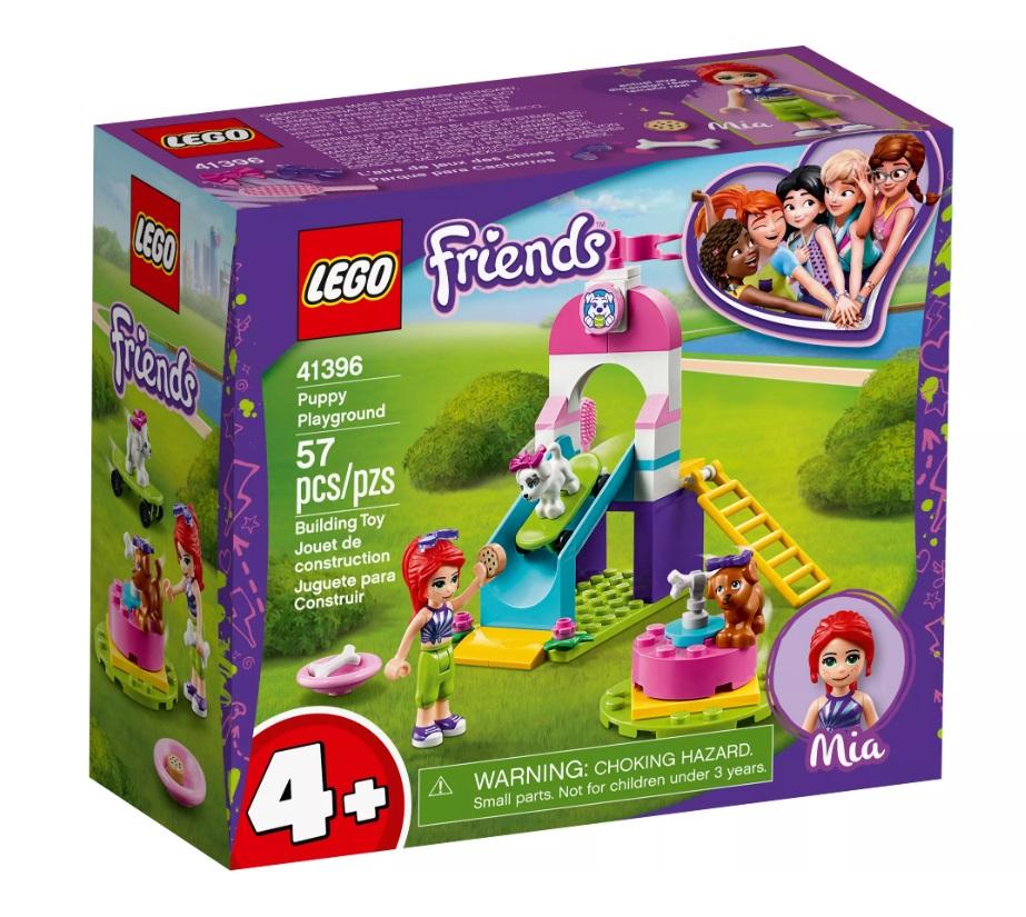 """Конструктор LEGO Friends 41396 """"Игровая площадка для щенков"""", 57 деталей фото"""