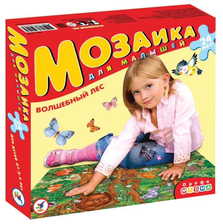 Купить Мозаика для малышей Волшебный лес , Дрофа-Медиа, Россия
