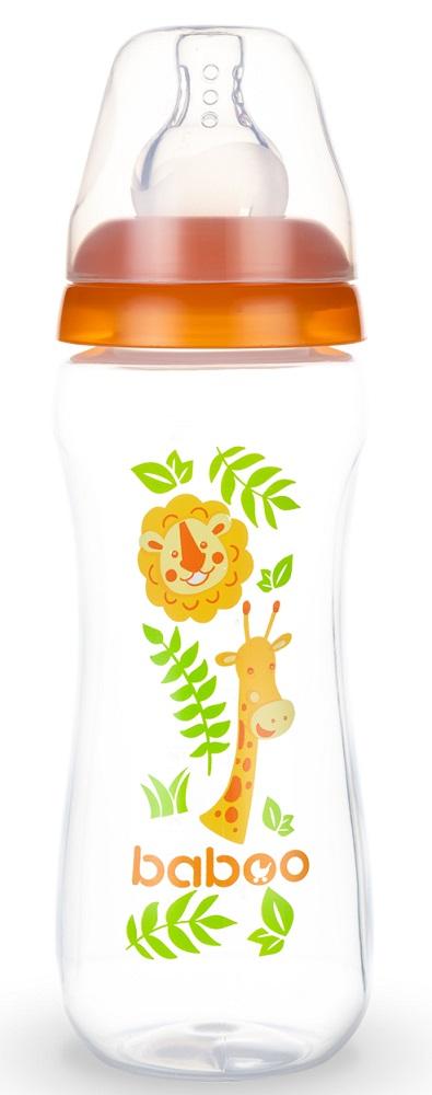 Купить Бутылочка Baboo Safari с силиконовой соской, 240мл, Великобритания