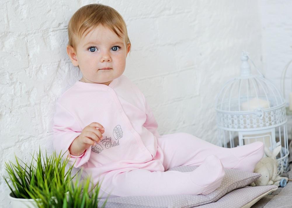 Купить Комбинезон Lucky Child Ангелочки , розовый, Наша Мама, Россия, Розовый, 56