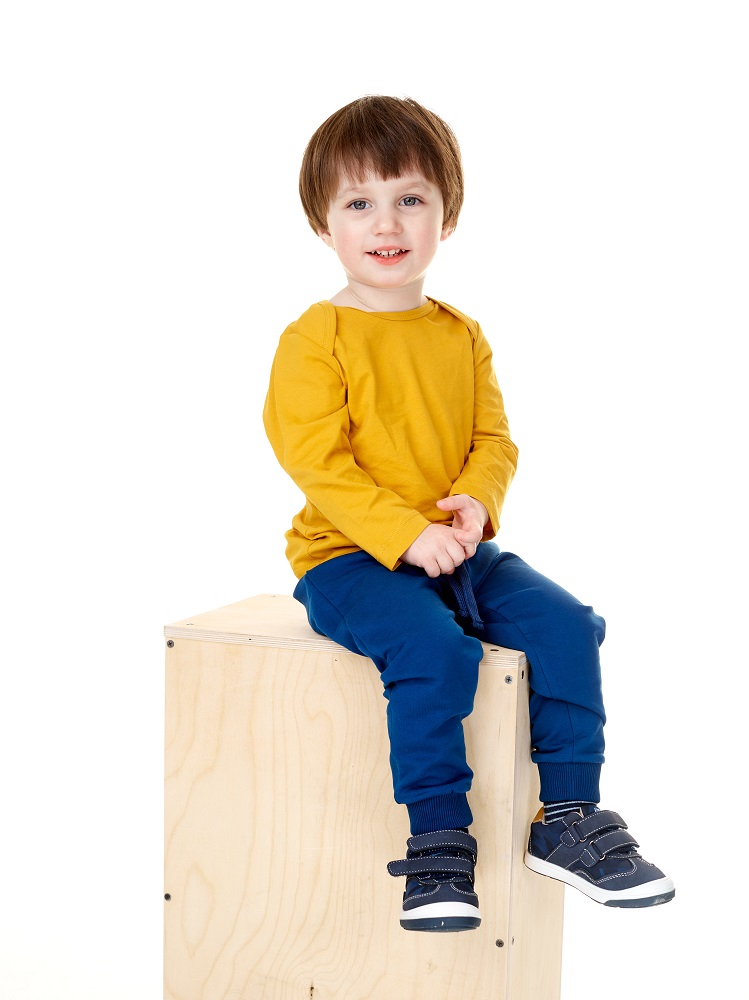 Купить Брюки UMKA 301-011-03-201 для мальчика, синие, Polini Kids, Россия, Синий, 74