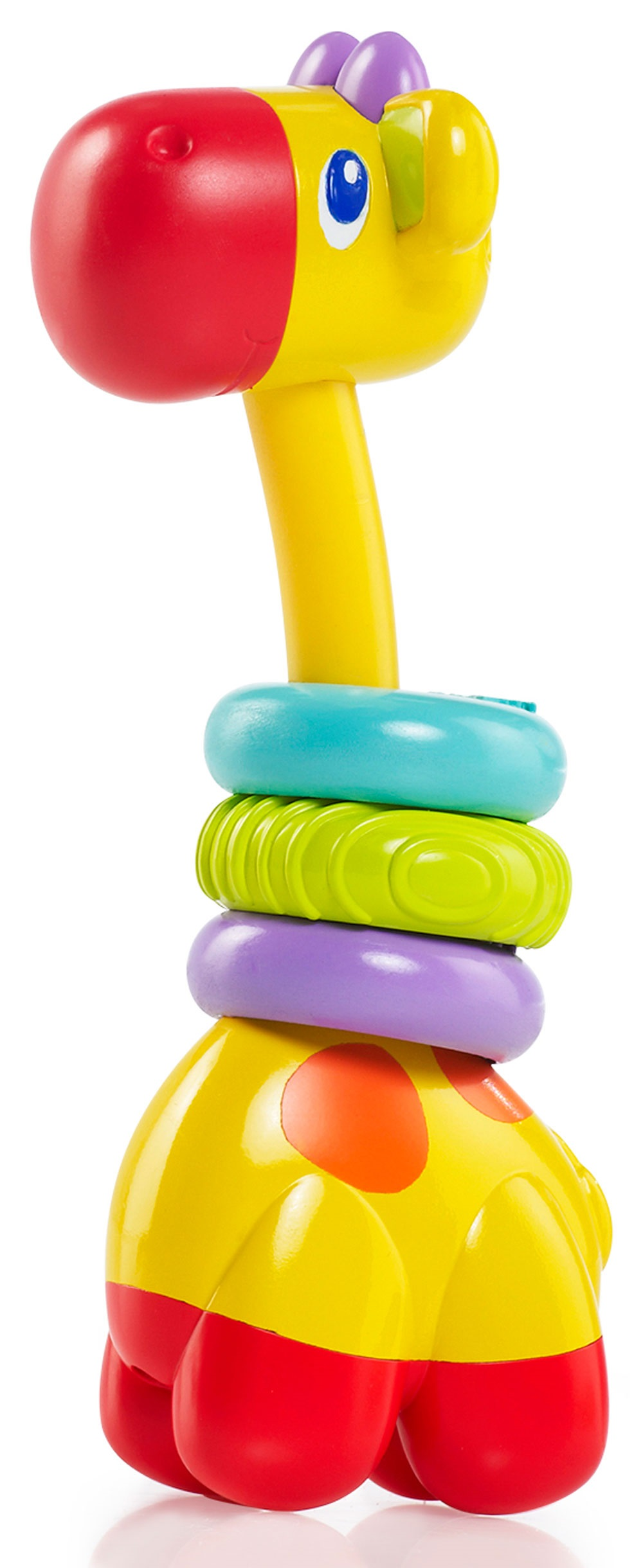 Купить Развивающая игрушка – прорезыватель Bright Starts «Веселый жираф», США
