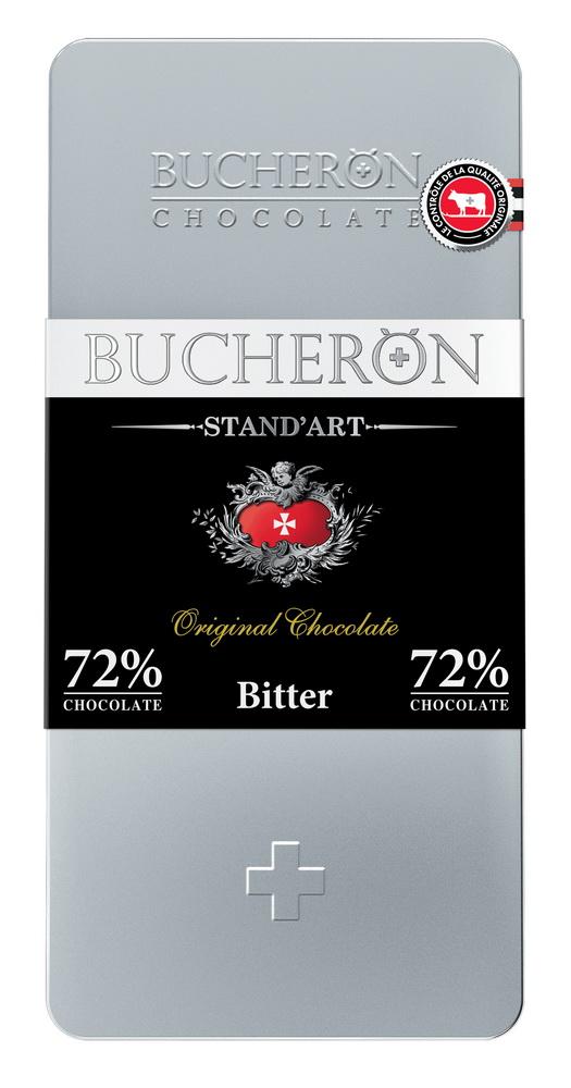 Купить Шоколад горький BUCHERON STAND'ART 72%, 100гр, Россия