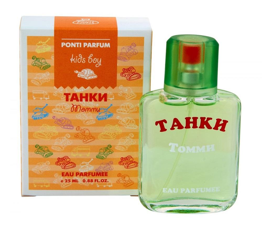 Купить Душистая вода Ponti Parfum Танки Томми, 25мл, Россия