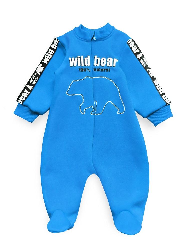 Купить Комбинезон Persona Mini Wild Bear , с вышивкой, синий, CS Medica, Россия, Синий, 62