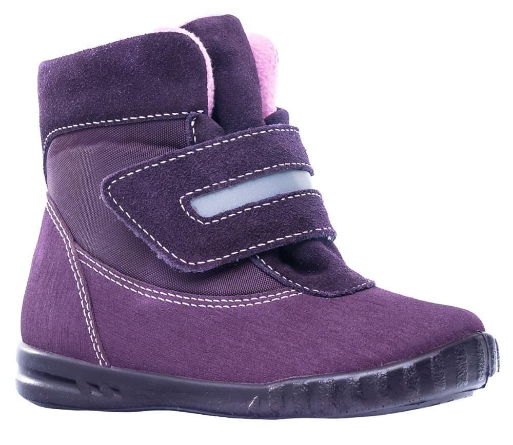 Ботинки Котофей 154004-31, фиолетовые фото