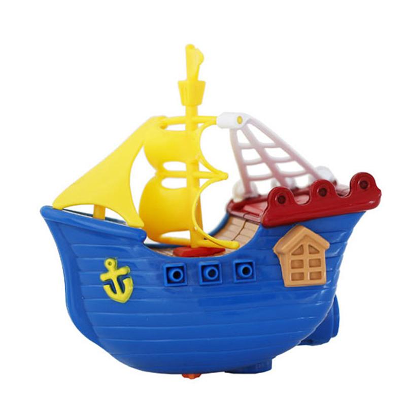 """Заводная игрушка Bampi """"Пиратский корабль"""""""