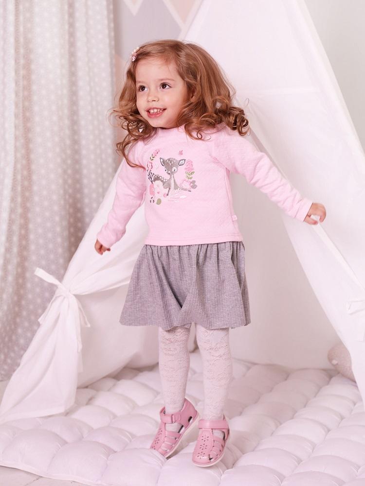 Купить Платье Persona Mini Лесная сказка , розово-серое, Hasbro, США, Мульти, 80