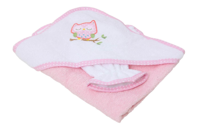 """Комплект для купания Фея """"Совушка"""", розовый"""