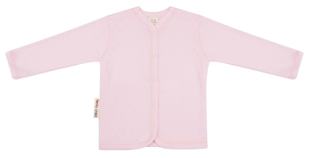 Купить Кофточка детская Lucky Child Ажур , розовая, Bembi, Украина, Розовый, 56