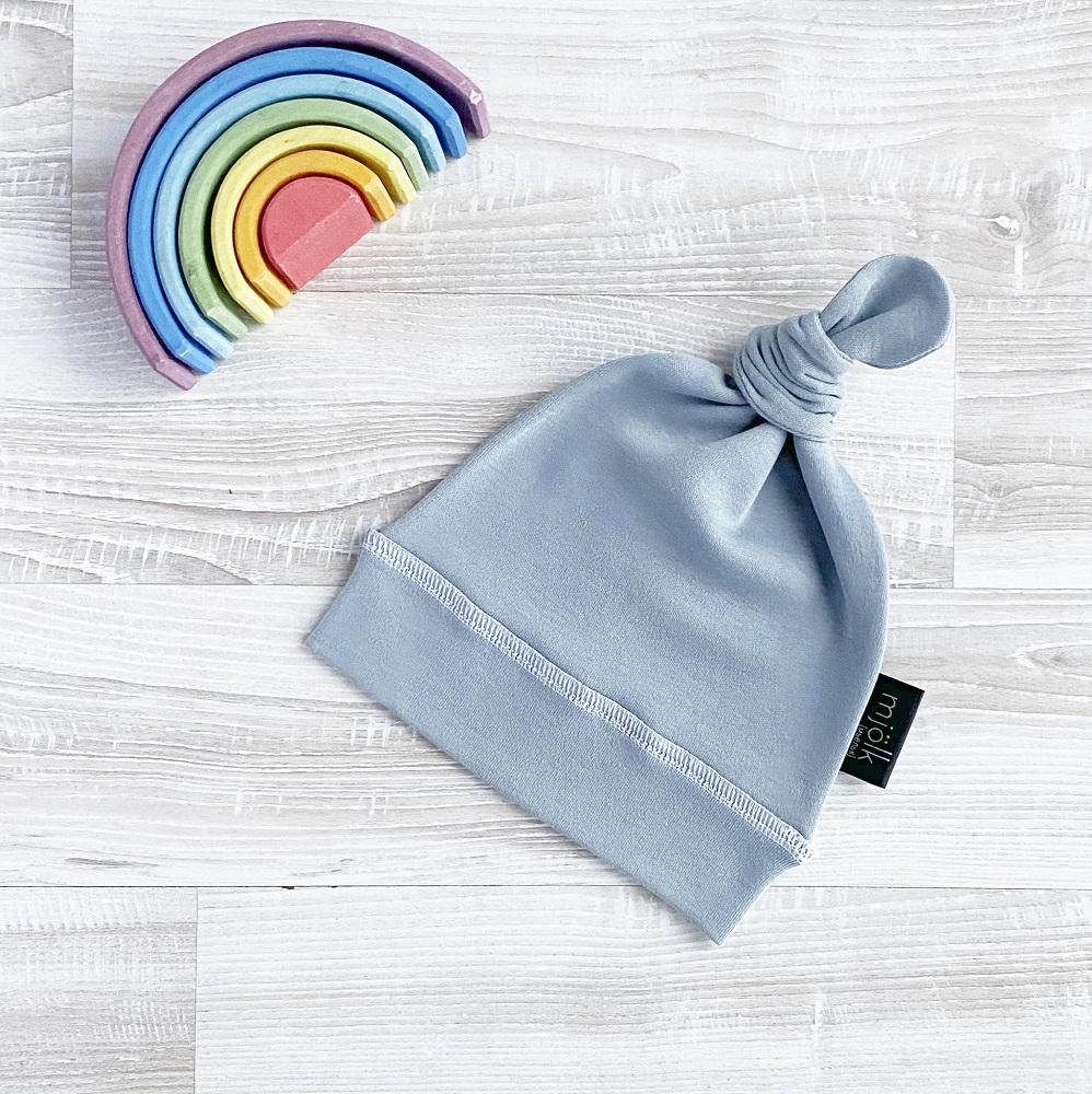Купить Шапочка Mjolk Baby Blue , Сонный Гномик, Россия, Голубой, 42