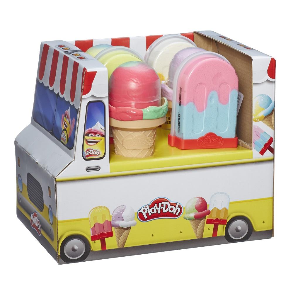 Купить Игровой набор Play-Doh Мороженое вафельный стаканчик , США