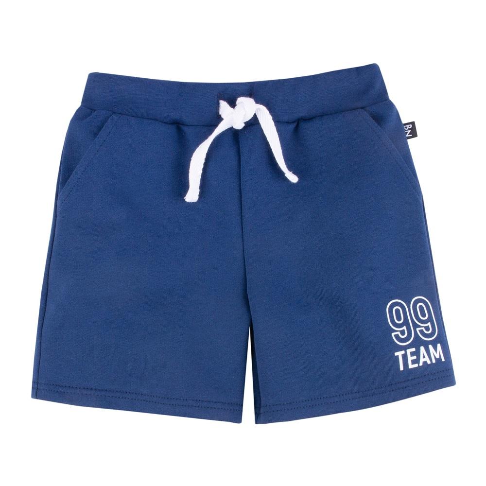 Купить Шорты Bossa Nova Лето 99 Team, для мальчика, синие, Нордтекс, Россия, Синий, 122