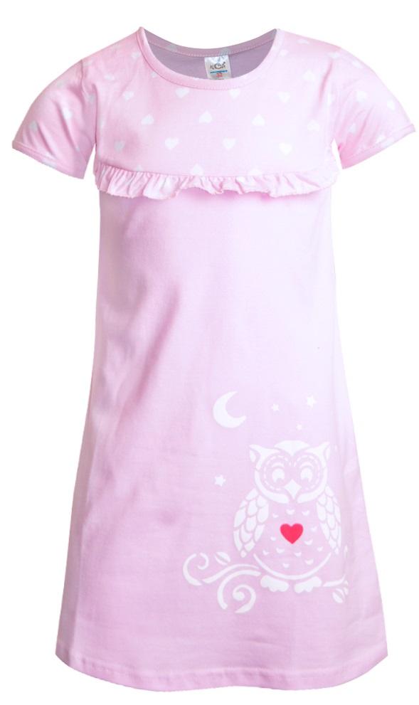 Купить Сорочка НОАТЕКС+ 11330 для девочки, розовая, Витоша, Россия, Розовый, 104