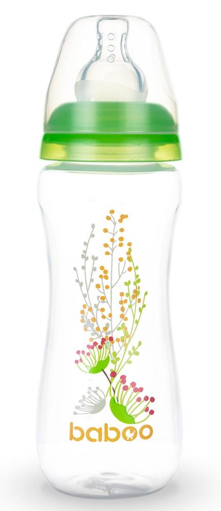 Купить Бутылочка Baboo Summer с силиконовой соской, 240мл, Великобритания